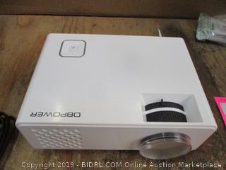 DBPOWER LED Light Source Mini Projector