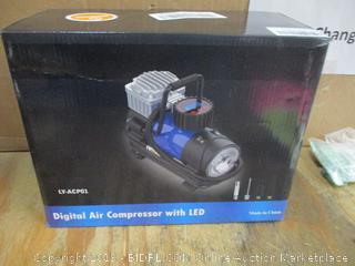 digital Air Compressor with LED