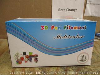 3D Pen Filament Multicolor