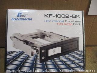 "Kingwin 3.5"" Internal Tray-Less Hot Swap rack"