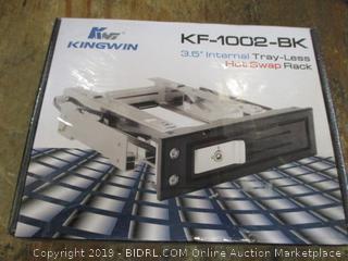 "Kingwin 3.5"" Internal Tray-Less Hot Swap rack"