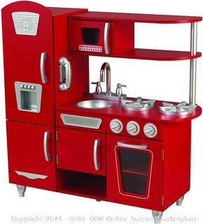 KidKraft Vintage Play Kitchen - Red  (online $91)