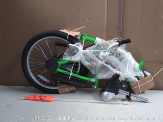 WeeRide Co-Pilot Bike Trailer Green (online $78)