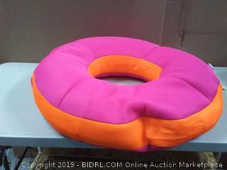 Big Joe Mesh Ring Float, Pink/Orange (online $48)
