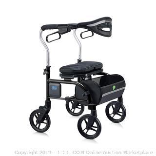 Trillium medical Walker 8in Wheels curb climber zipper basket durable Tire (online $349)