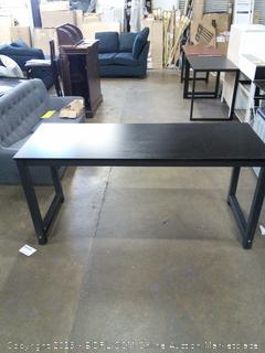Tribesigns Modern Office Desk Black Legs