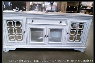 Entertainment Center - TV Stand, Drawers & Hutch (Value $1699)