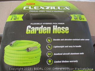 Flexzilla Garden Hose, 5/8 in. x 75 ft., Heavy Duty, Lightweight, Drinking Water Safe - HFZG575YW (Retail $60)