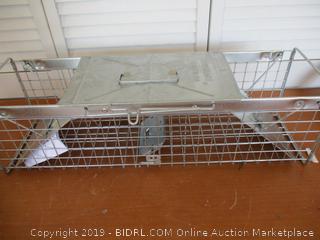 Havahart 632 Medium 2-Door Safe Release Live Animal Cage Trap (Retail $70)