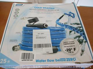 Camco 25' 25ft TASTEPure Heated Drinking Water Hose with Energy Saving Thermostat (Retail $100)