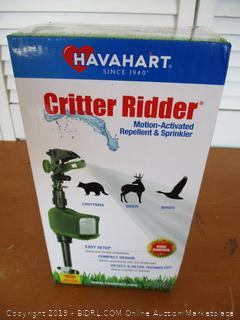 Havahart 5277 Critter Ridder Motion-Activated Animal Repellent & Sprinkler (Retail $35)