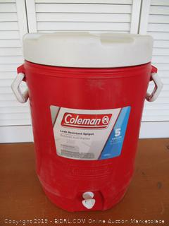Coleman 5-Gallon Team Cooler (Retail $35)