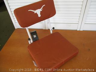 Texas Longhorns Hardback Stadium Seat (Retail $40)