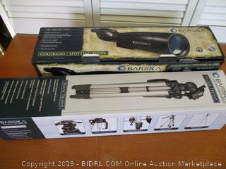 Barska 30-90x90 Waterproof Colorado Spotter Scope and Tripod (Retail $215)