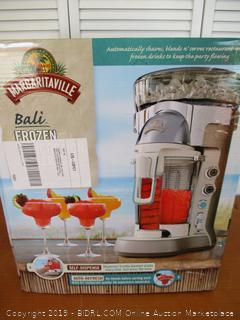 Margaritaville Bali Frozen Concoction Maker with Self-Dispensing Lever and Auto Remix Channel, DM3500 (Retail $300)