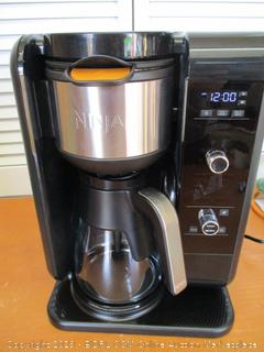 Ninja Coffee Bar Auto-iQ Programmable Coffee Maker, Milk Frother, Stainless Carafe (CF097) (Retail $200)