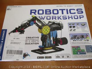 Thames & Kosmos Robotics Workshop Model Building & Science Experiment Kit (Retail $225)