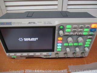 Siglent SDS1104X-E 100Mhz digital oscilloscope 4 channels standard decoder (Retail $500)