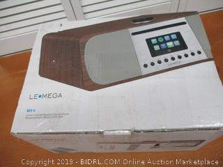 LEMEGA M5+ All-In-One HIFI Music System with CD Player, Internet Radio, FM Radio, Spotify, Bluetooth, WIFI, (Retail $375)