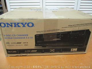 Onkyo DXC390 6 Disc CD Changer (Retail $170)
