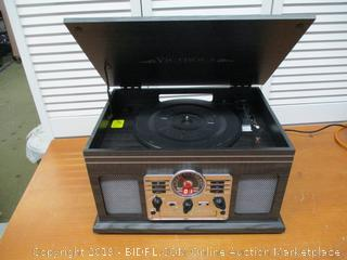 Victrola Nostalgic Classic 6-in-1 Bluetooth Turntable Entertainment Center