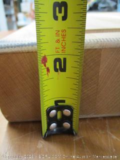 John Boos Block RAFR2418 Reversible Maple Edge Grain Cutting Board, 24 Inches x 18 Inches x 2.25 Inches