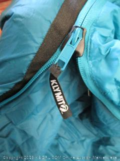 Klymit KSB 30 Degree Down Two Person Double Sleeping Bag (Retail $400)