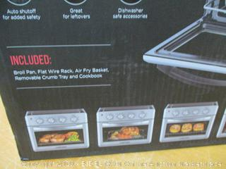 Chefman Air Fryer Toaster Oven, 6 Slice, 26 QT Convection AirFryer