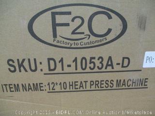 "Super Deal PRO 12"" X 10"" Digital Swing Away Heat Press Heat Transfer Sublimation Machine (Retail $140)"