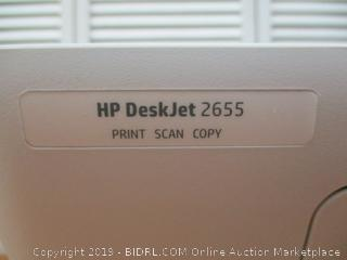 HP DeskJet 2655 All-in-One Compact Printer