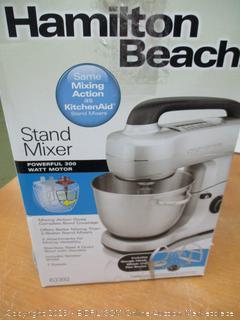 Hamilton Beach Electric Stand Mixer, 4 Quarts, 7 Speeds (63392) (Retail $125)