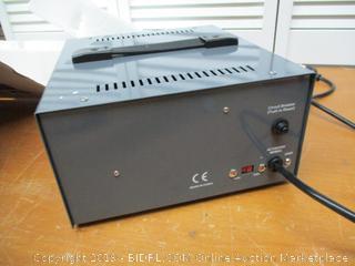 Simran 2000 Watt Step Up/Down Voltage Transformer Converter Box with Built-in Voltage Regulator for 110V-240V, Circuit Breaker Protection, VSR-2000