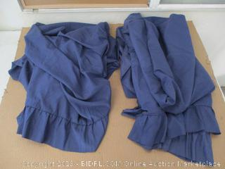 Mattress Sheet And Skirt (Full)