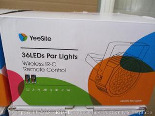 """36"""" LEDs Par Lights (Set of 4)"""