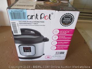 Instant Pot DUO60 6 Qt 7-in-1 Multi-Use Programmable Pressure Cooker (Broken Handle)