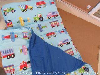 Wildkin Microfiber Nap Mat with Pillow for Toddler Boys and Girls