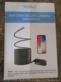 Nidage WiFi Endoscope Camera