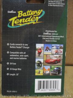 Battery Tender Charging Adapter