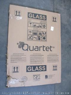 Quartet Glass Dry Erase Board Calendar