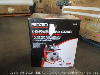 Rigid Powered Drain Cleaner