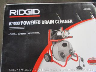 Rigid Powered Drain Cleaner