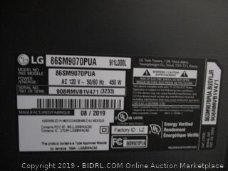 """LG 86"""" Smart NanoCell LED TV"""