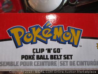 Poke'Mon Ball Belt Set