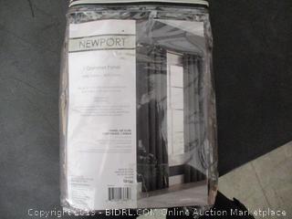 One Grommet Curtain Panel