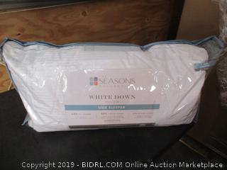 White Down King Size Pillow