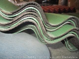 corrugated asphalt shingles