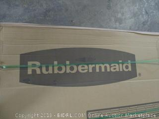 Rubbermaid large vertical shed
