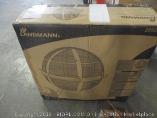 Landmann ball of fire unique ball shaped fire pit