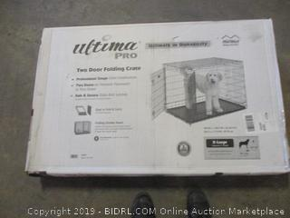 Ultima pro XL two door folding crate