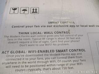 """52"""" WYND modern farms smart fan"""